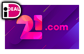 online casino 21.com logo